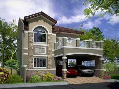 Modern homes exterior designs ideas. | Modern Home Designs