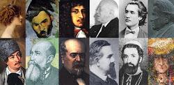 Douze visages célèbres de Roumanie