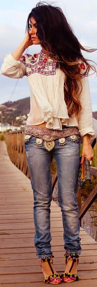 5 Beautiful Boho Chic