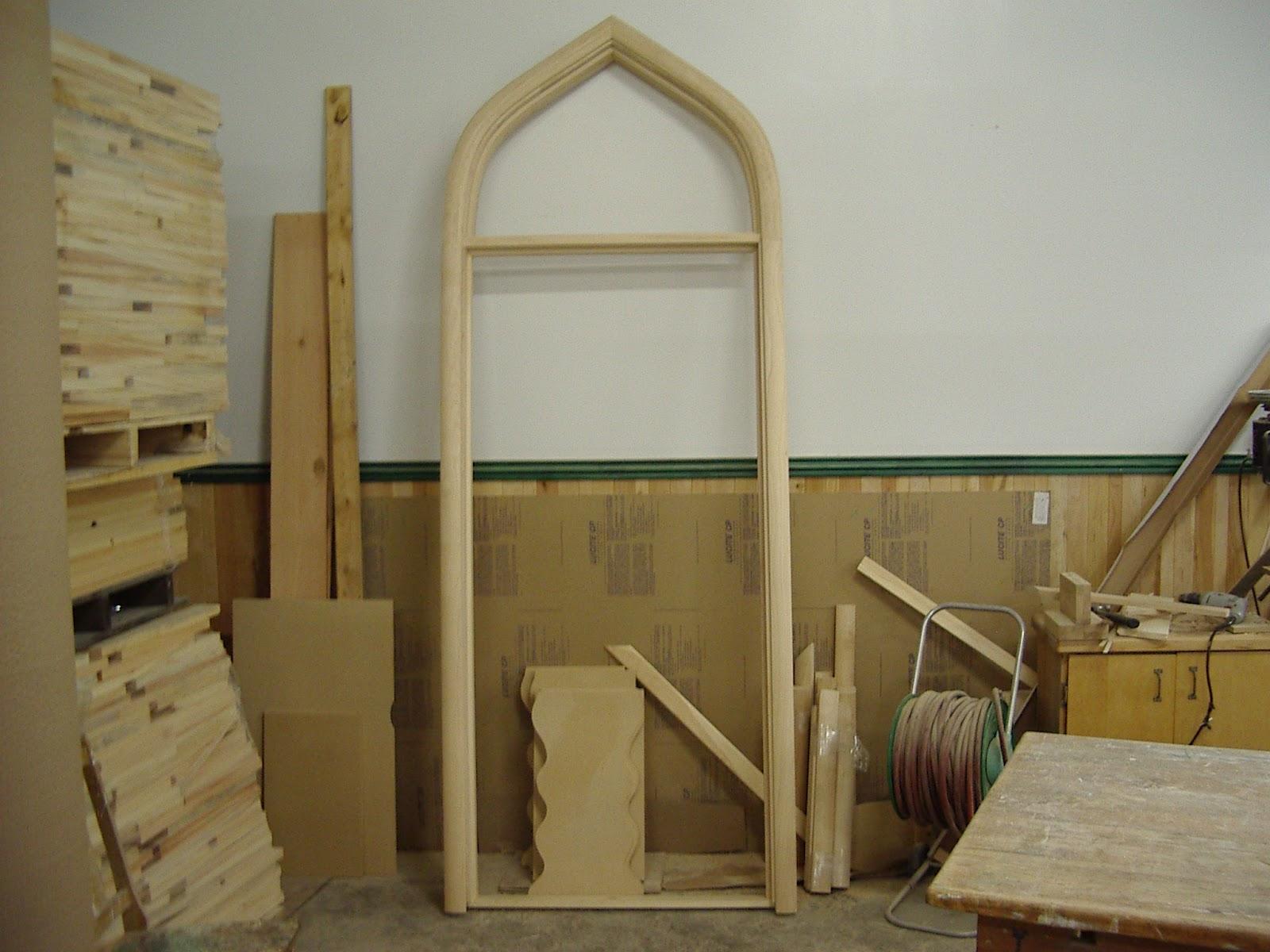 menuiserie st m thode cadre de porte en bois. Black Bedroom Furniture Sets. Home Design Ideas