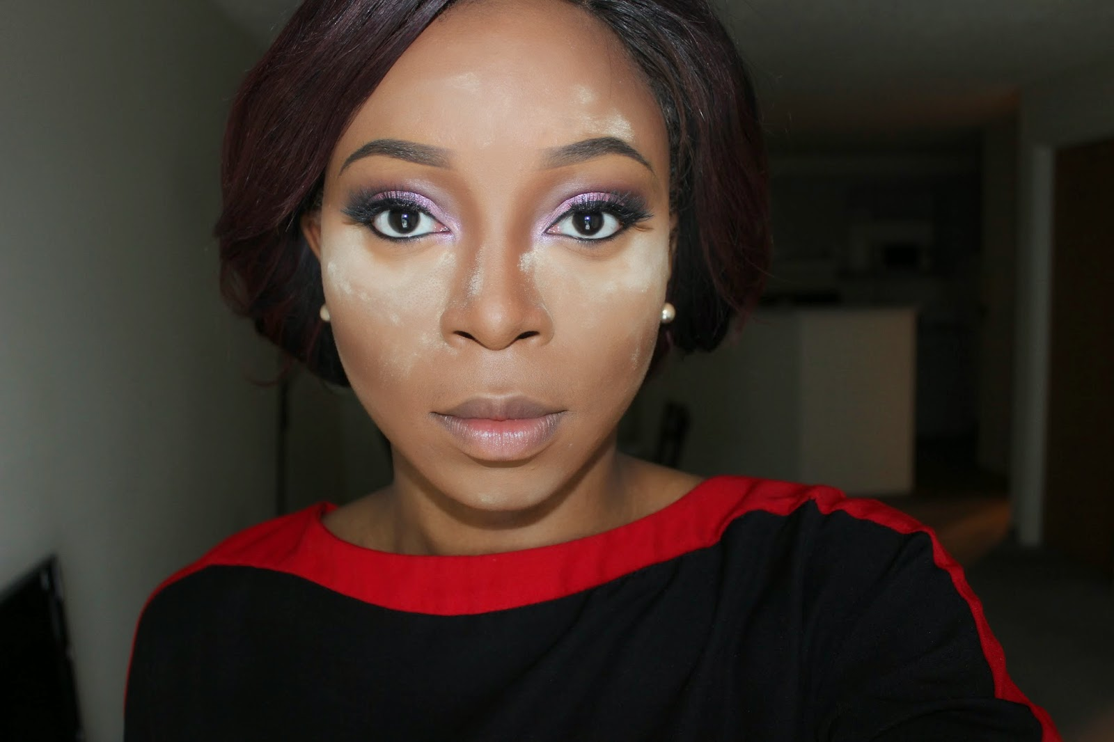 Step 5: Set The Concealer, I Use My Ben Nye Banana Powder To Set My  Highlight And My Bare Minerals Loose Foundation Powder In Warm Deep To Set  The Contour