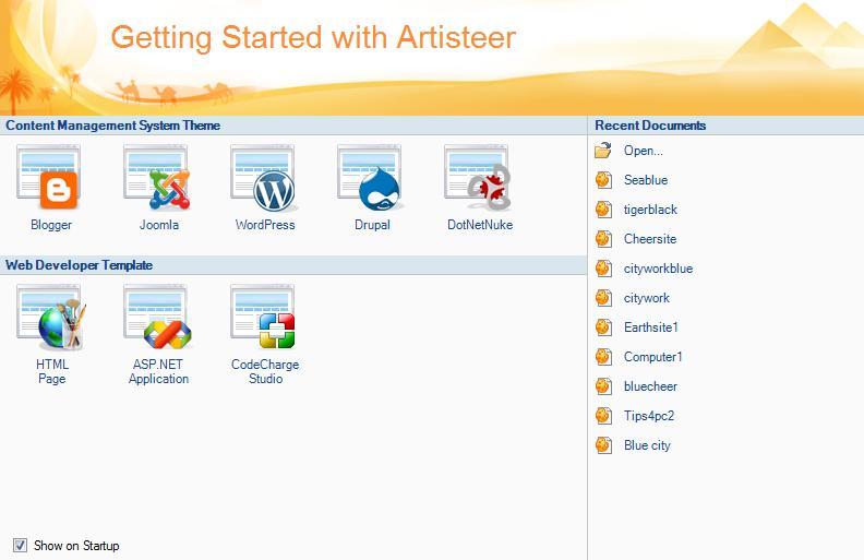 Artisteer 3.1 является мощным инструментом для создания шаблонов Joomla, Зе