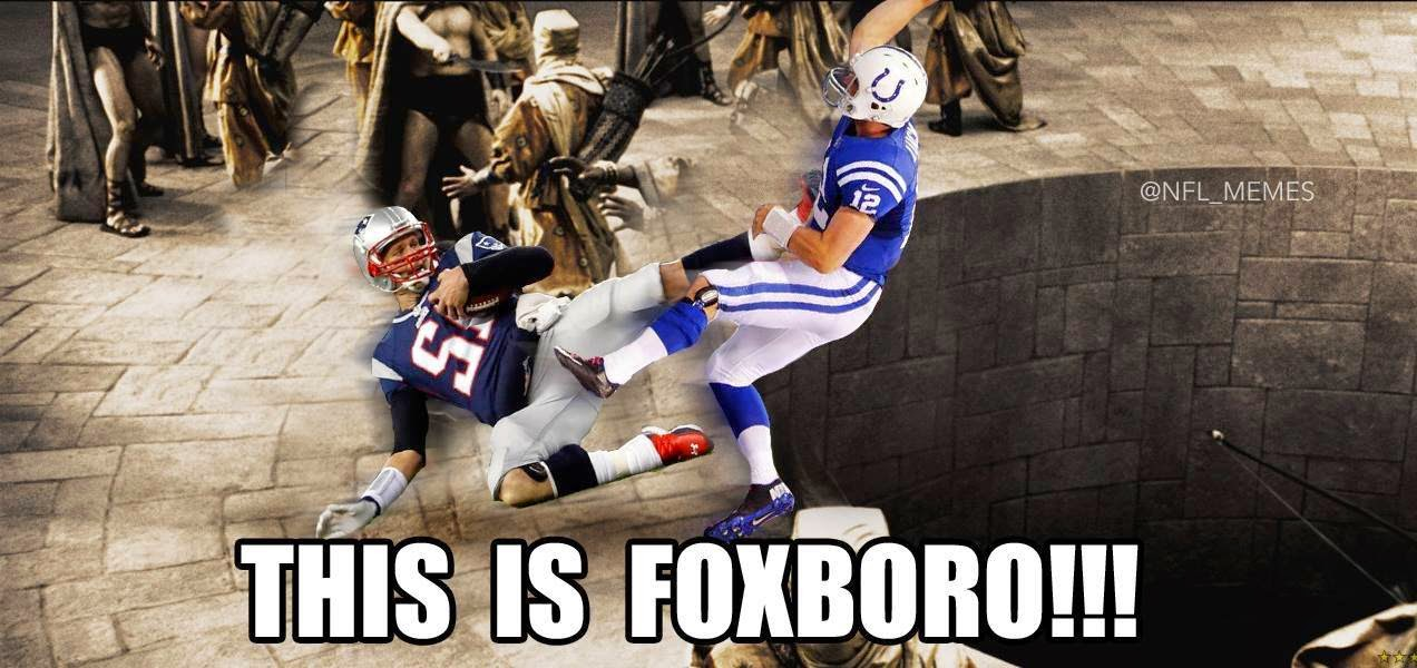 This is Foxboro!!!