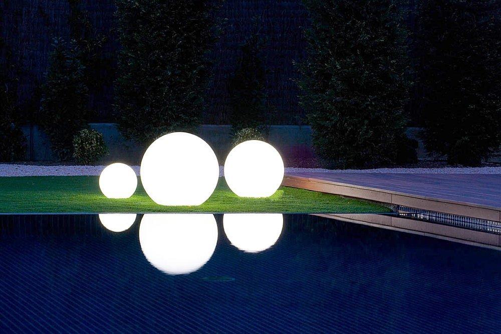 Siette interiores for Luces de exterior para jardin