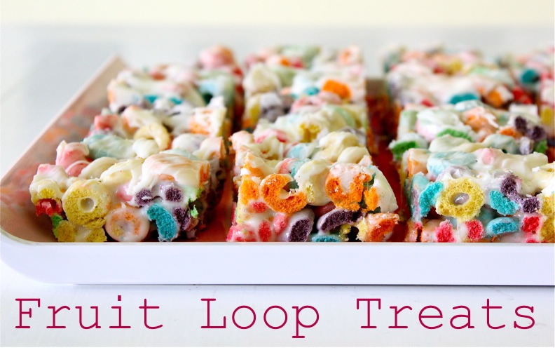 Fruit loop treats made everyday ccuart Choice Image