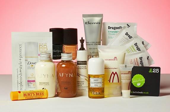 You Beauty Box - January Selections - Makeup Skincare Health