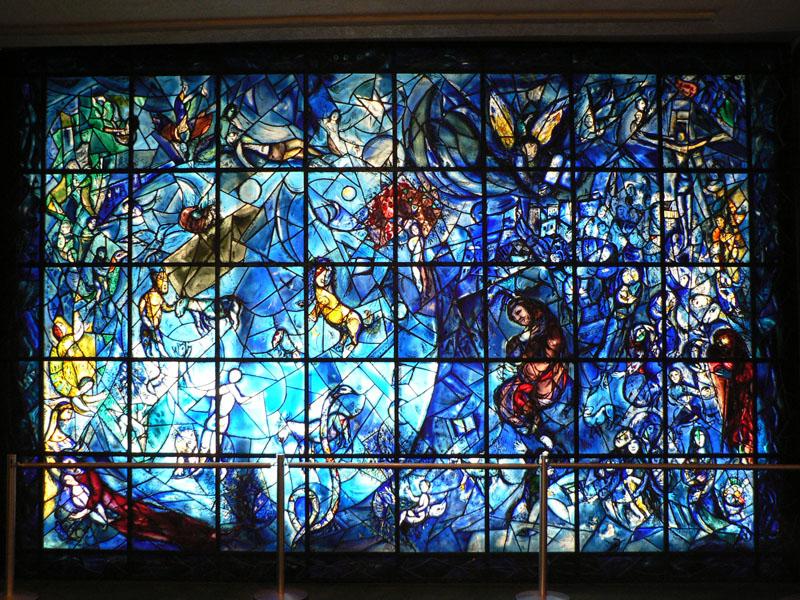 VITRALES Y MOSAICOS: Definiciones...vitral Chagall Witte Kruisiging