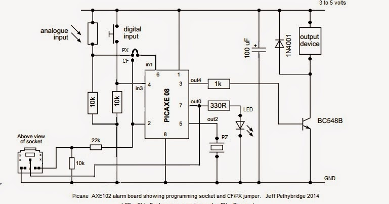 My random life picaxe axe102 board full schematic sciox Images