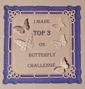 Summertime Butterfly Challenge