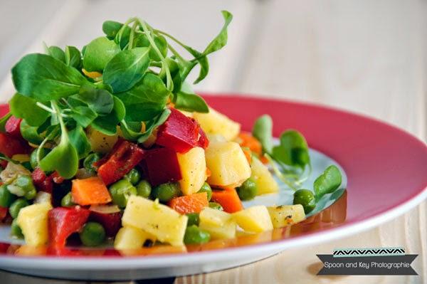 Vegetarischer Kartoffelsalat Rezept