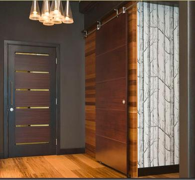 Fotos y dise os de puertas para puertas correderas for Disenos de puertas de madera para exterior