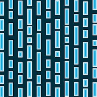 Muster in Blau und Weiß 4