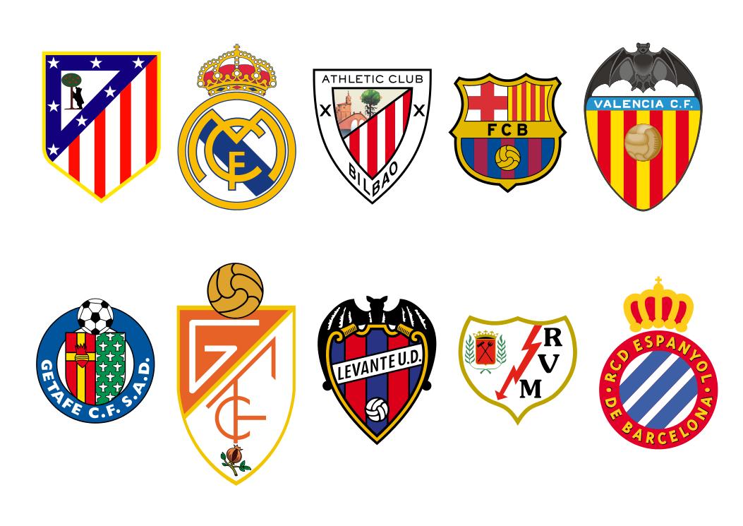 Juegos De Colorear Escudos De Futbol. Finest Colorear Logo Del Ac ...