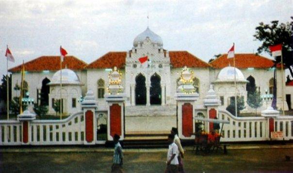 Masjid Agung Tuban Tempo Dulu.