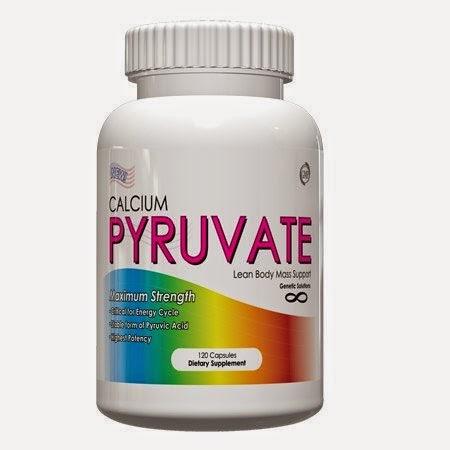 Genetic Solutions Calcium Pyruvate 500mg 120 caps