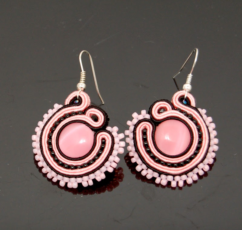 kolczyki sutasz soutache earrings 78