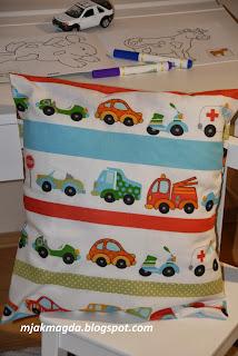 poszewka, poduszka, dla dzieci, dziecięca, chłopca, chłopiec, samochody, pojazdy, ciężarówka, skuter, policja, karetka, ambulans, wywrotka koparka, bawełna, kolorowa, pillowcase, pillow, kids, children, boy, boys, cars, trucks, truck, snowmobile, police, ambulance, ambulance, dump truck excavator, cotton, colored,