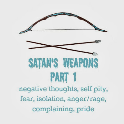 Satans+Weapons+Part+1 Spiritual Weapons of Warfare Part 3