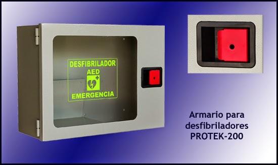 Armario para desfibriladores PROTEK-200 DEA