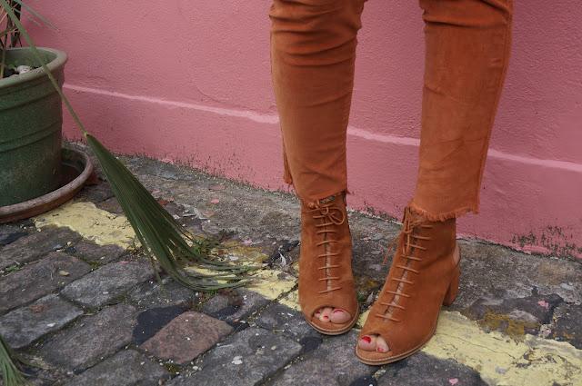 chloeschlothes- pantalon velour marron