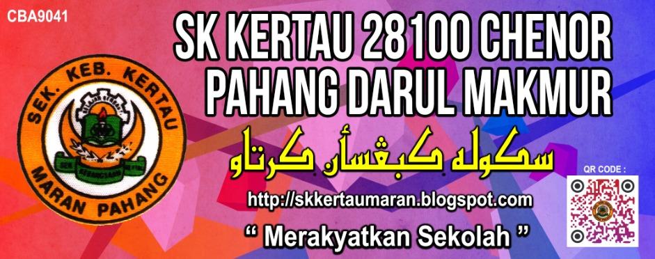 Sekolah Kebangsaan Kertau, Maran, Pahang Darul Makmur