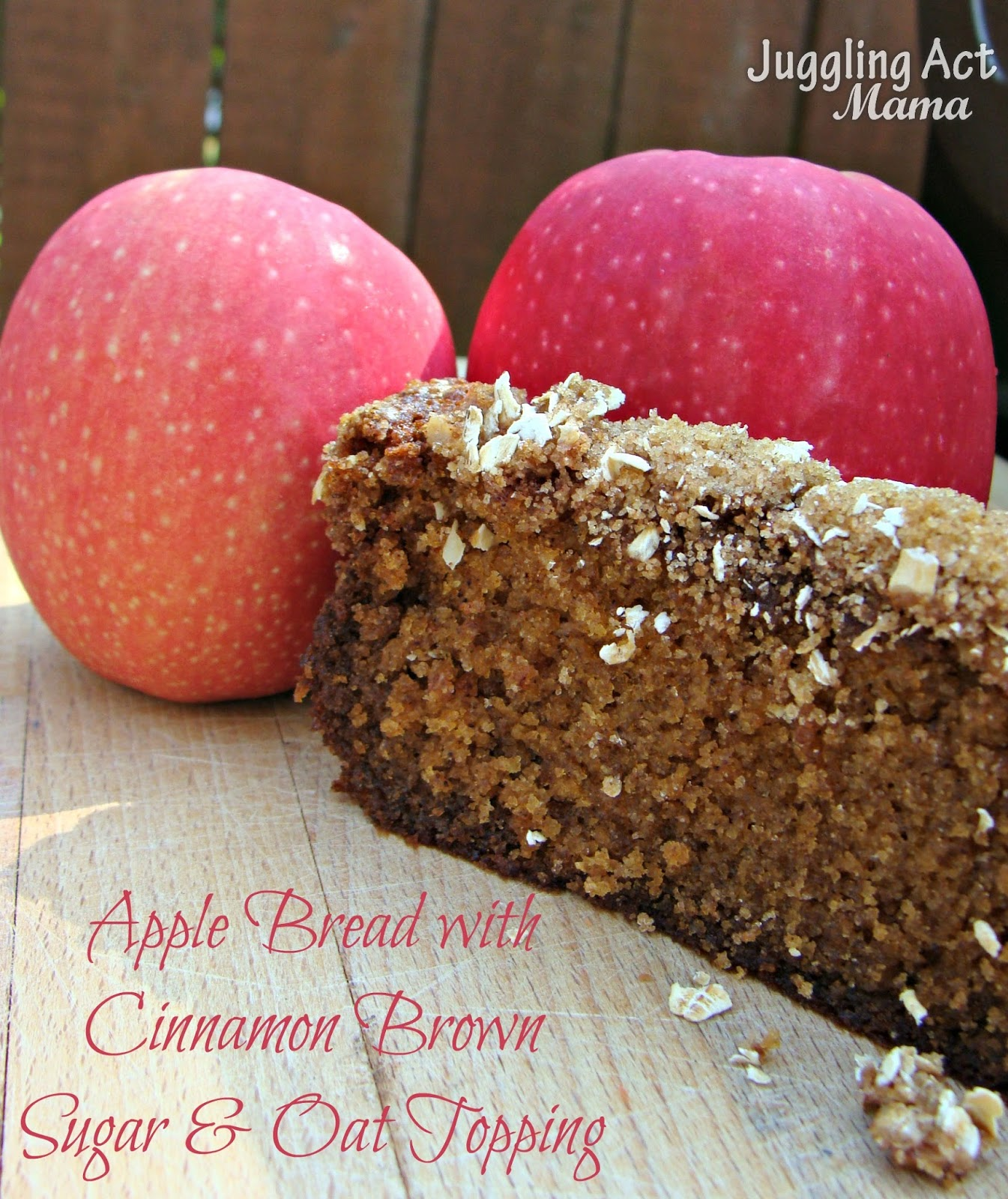 One of my favorite recipes is from the amazing cook book Apples for ...