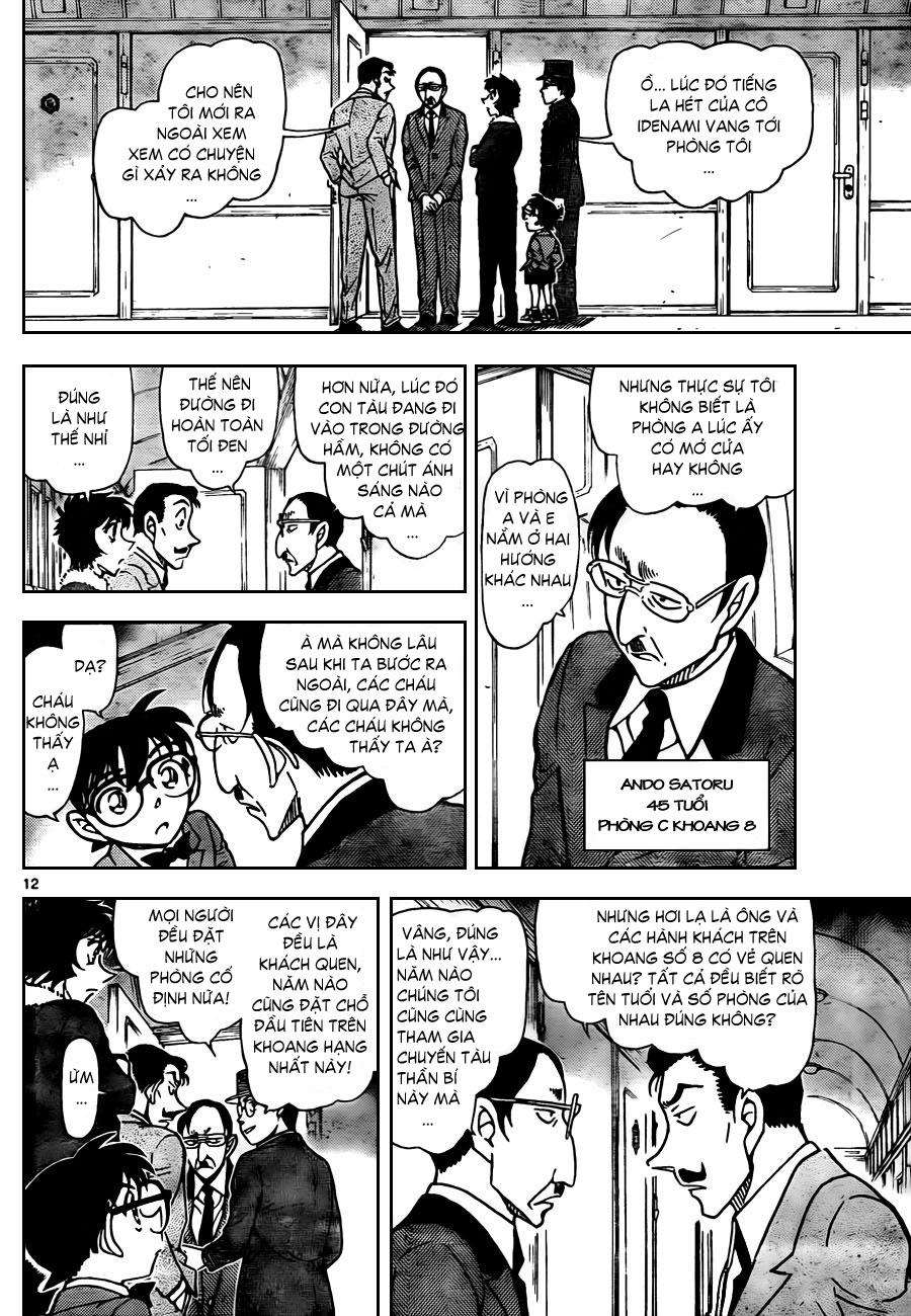Thám Tử Lừng Danh Conan - Chapter 820 - Pic 13