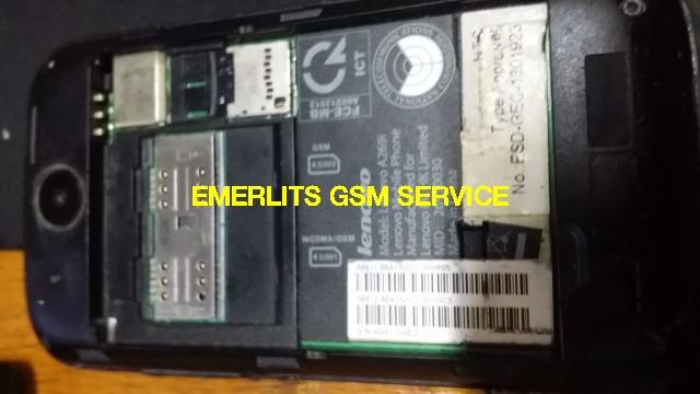 Lenovo A269i Firmware ROM - Emerlits Gsm Service
