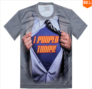 T Shirt ثلاثي الابعاد لمحبي الاناقة