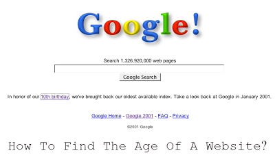 How Old is a Website? Find Domain Age of Any WebSites For Free