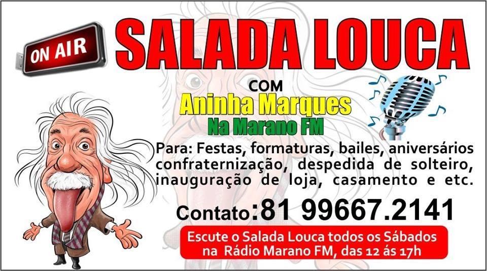 SALADA LOUCA COM ANINHA MARQUES