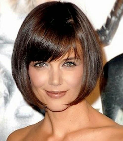 Info Kesehatan - Gaya rambut pendek berponi