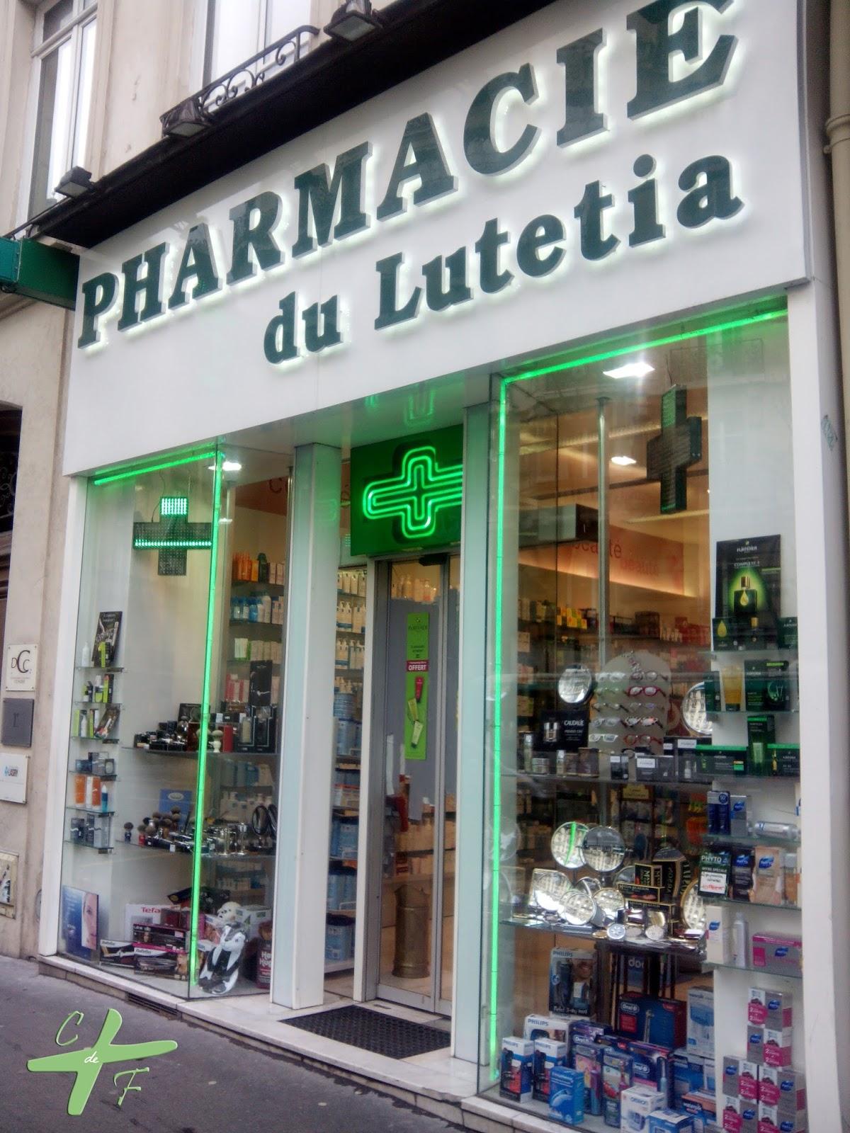 Farmacias de París