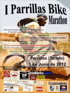 I Parrillas Bike Maratón. Ruta Cicloturista.