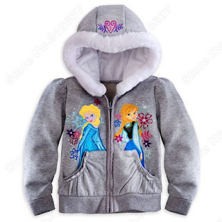 Model Jaket Frozen Untuk Anak Perempuan Cantik