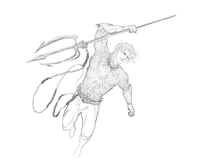 Coloring Pages Aquaman Coloring Pages