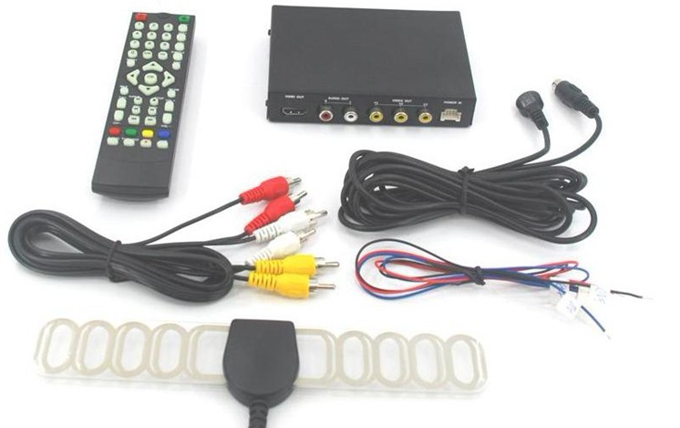 CAR DVB-T2 TUNER