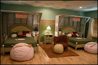 Baseball Bedroom Decorating Ideas