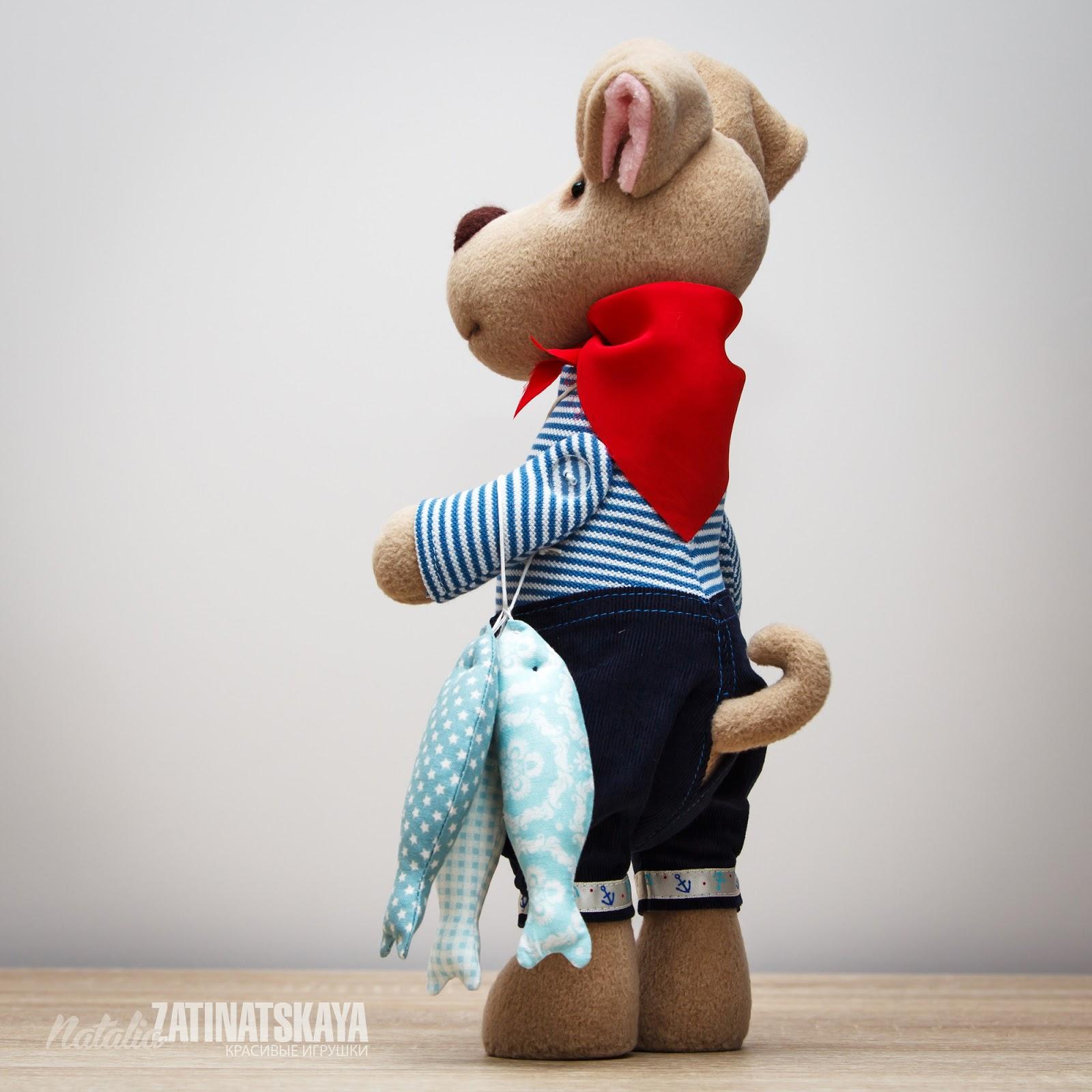 Мягкие игрушки в одежке своими руками