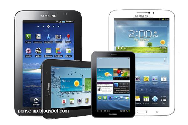 Harga Samsung Galaxy Tab Series - Tab 1, Tab Plus, Tab 2, Tab 3
