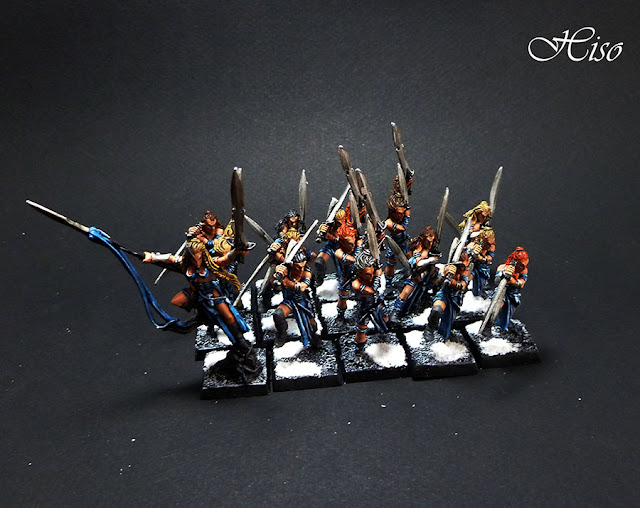 Wood Elves - Wardancers