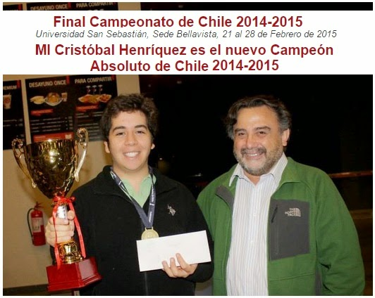 CAMPEON DE CHILE 2014 - 2015