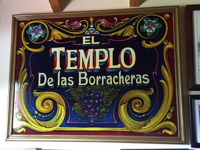«EL TEMPLO DE LAS BORRACHERAS»