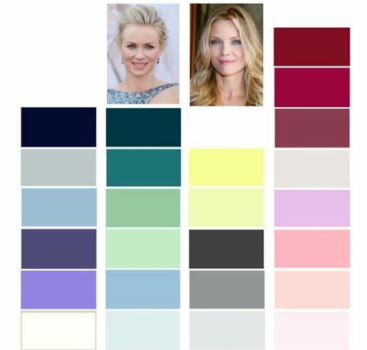 La cazadora de tendencias cual es el color que m s te favorece - Colores que favorecen ...