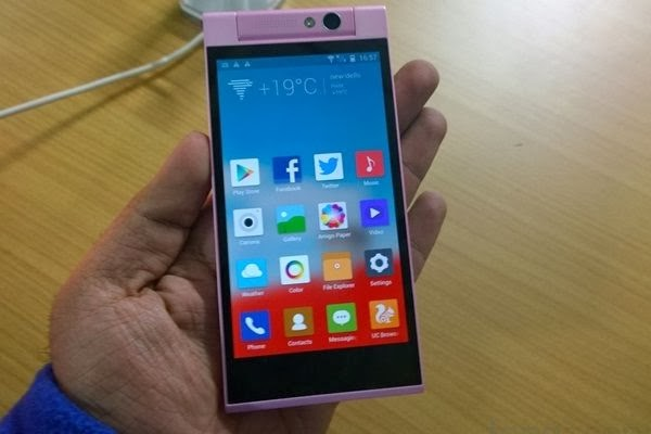 Gionee's new Elife E7 Mini smartphone