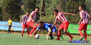 Persib Bandung Menang Telak 5-0 atas Bareti FC