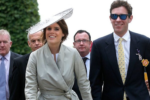 Princess Eugenie of York and her boyfriend Jack Brooksbank