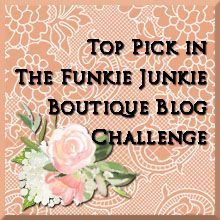 The Funkie Junkie Boutique Challenge #13; Positively Pensive... DOCUMENTED
