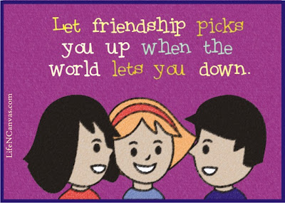 let friendship picks you up