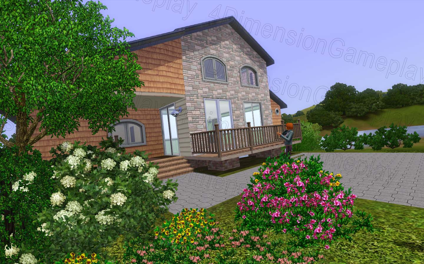 Sims 3 Home Design Hotshot Part - 30: If You Want To Start A Renewal Will Have To Go To The Site Of Your Client,  Before Starting The Renovation You Can Interact With Your Customer, ...